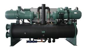 Water Cooled Screw Chiller, 200kW~2200kW